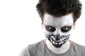 How To Paint A Skeleton Face For Halloween by Step By Step Guide To Make Skeleton Face Painting Effortlessly