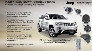 jeep grand sound system jeep grand wk2 grand harman kardon premium