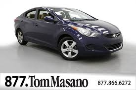 2013 hyundai elantra used 2013 used hyundai elantra 4dr sedan manual gls at masano auto