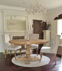 our beautifully distressed wolsey round dining table has been hand