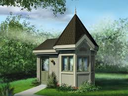 Garden Shed Plan Garden Shed Plans Victorian Style Garden Shed 072s 0022 At