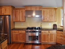 crown molding ideas for kitchen cabinets wonderful brown color hickory kitchen cabinets come with wall