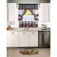 decorations charming modern polyester kitchen cottage set mason jars walmart com