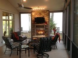 fireplace screens for gas fireplaces screened in porch with fireplace this screened porch with outdoor fireplace
