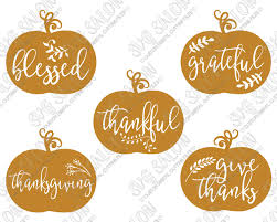 thanksgiving pumpkin cut files in svg eps dxf jpeg and png
