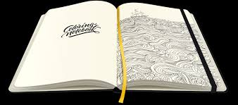 paper notebook coloring pages coloringnotebook
