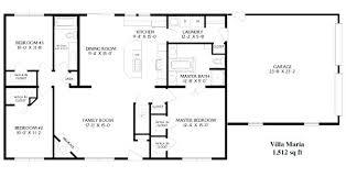 ranch floorplans ranch floor plans open concept simple open ranch floor plans style