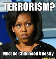 Michelle Meme - image 266286 michelle obama must be childhood obesity know