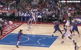 Deandre Jordan Meme - deandre jordan brandon knight and the dunk heard round the world