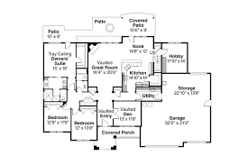 House Plans With Vaulted Great Room by Traditional House Plans Abbington 30 582 Associated Designs