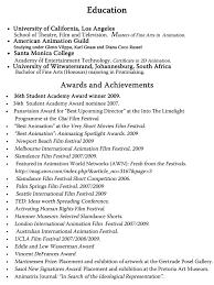 curriculum vitae template for teachers australia movie achievement exles for resumes exles of resumes