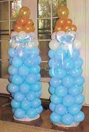 How To Make Baby Shower Centerpieces by Baby Shower Balloon Art Love The Bottles But They Have Other Cute