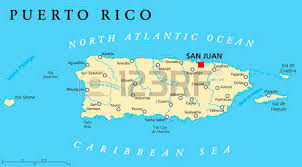 map of united states countries and capitals puerto rico political map with capital san juan a united states