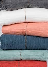 linge lit lin harmony couvre lit en lin et coton seoni blanc ivoire u2013 home