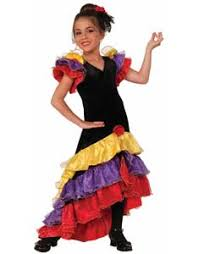 Mexican Woman Halloween Costume Spanish Mexican Costumes Costume Craze