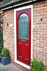 Front Door Red by Front Doors Printable Coloring Red Composite Front Door 114 Red