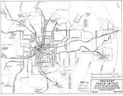 Maps Of Atlanta by Maps Of Your City U0027s Historic Trolley Lines Page 2