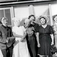 halloween costumes unusual vintage photo costume women scary eerie halloween masks unusual