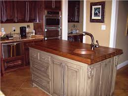 decor natural walnut butcher block for kitchen furniture ideas
