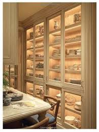 Kitchen Dish Cabinet China Cabinet Love Those Arched Doors Interior Canvas
