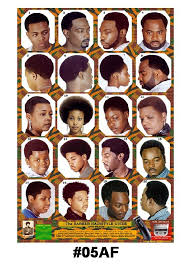 haircuts at the barbershop women african american barber poster african american black afro 05af ensley beauty supply