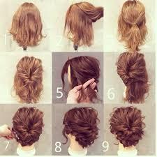 homecoming hair braids instructions short hair styling hairstyles pinterest short hair hair