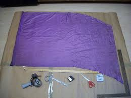 Making A Flag Pole How To Make A Colorguard Practice Flag 6 Steps