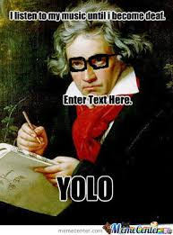 Beethoven Meme - hipster beethoven by b0mmel0 meme center