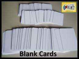 blank cards blank cards print play admagic