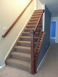 How Much Do Banisters Cost Basement Open Railing Craftsman Basement Finish Colorado