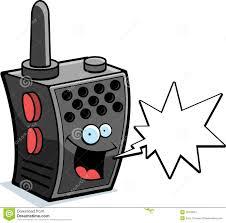 walkie talkie smiling stock photography image 10270012