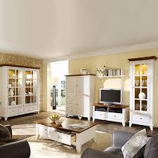 wohnzimmer g nstig kaufen komplett wohnzimmer senorita 6 teilig weiß braun kiefer