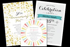 anniversary party invitations email online anniversary invitations that wow greenvelope
