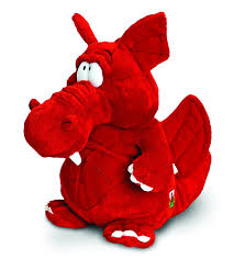 Why Does The Welsh Flag Have A Dragon Keel Toys 25 Cm Welsh Dragon Amazon Co Uk Toys U0026 Games