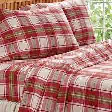 plaid cotton flannel sheets plaid flannel sheet set orvis