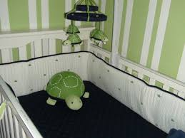 Pottery Barn Kids Area Rugs by Blue And Green Nursery With Preppy Turtle Bedding From Gap Rug