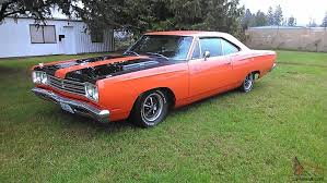 plymouth road runner 383 4 speed factory air grabber