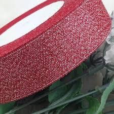 glitter ribbon wholesale 25 yards roll 1 25mm metallic glitter ribbon colorful gift