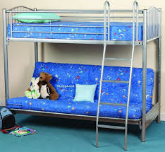 Sweet Dreams Troy Futon Bunk Highsleeper With Double Futon Bed - Futon bunk bed with mattresses