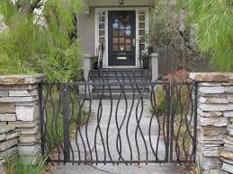 trendy inspiration metal garden gate designs modern gate designs