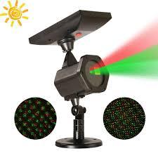 solar christmas light projector solar powered laser light projector christmas laser star shower