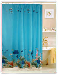 Fishing Shower Curtain Sea Tropical Fish Fabric Shower Curtain Wy2501 Wholesale Faucet E