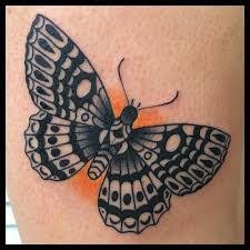 image result for traditional butterfly tattoos