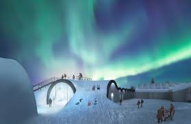 Hotel De Glace Canada by Ice Hotel Inhabitat Green Design Innovation Architecture