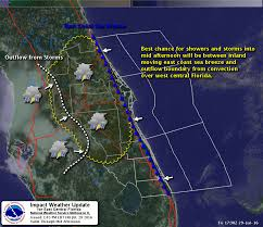 Florida Weather Map Weather Rain Chances Low But Temperatures Still High Friday Radar