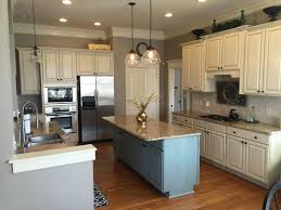 how to paint kitchen cabinets antique blue sherwin williams antique white and province blue 2 cabinet