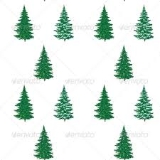 christmas trees seamless pattern by alexcoolok graphicriver