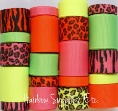 ribbons for sale 93 best animal print ribbons images on printed ribbon