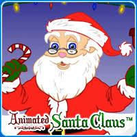 animated santa animated santa claus christmas with santa and kidoons