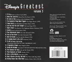 disney disney u0027s greatest vol 3 jewel amazon com music
